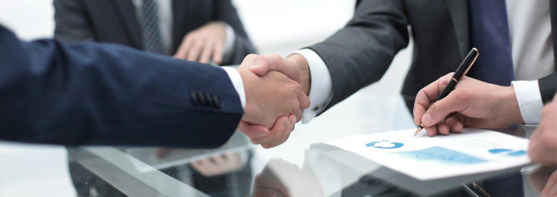 hiring attorney handshake