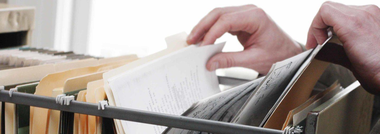 personal injury case files