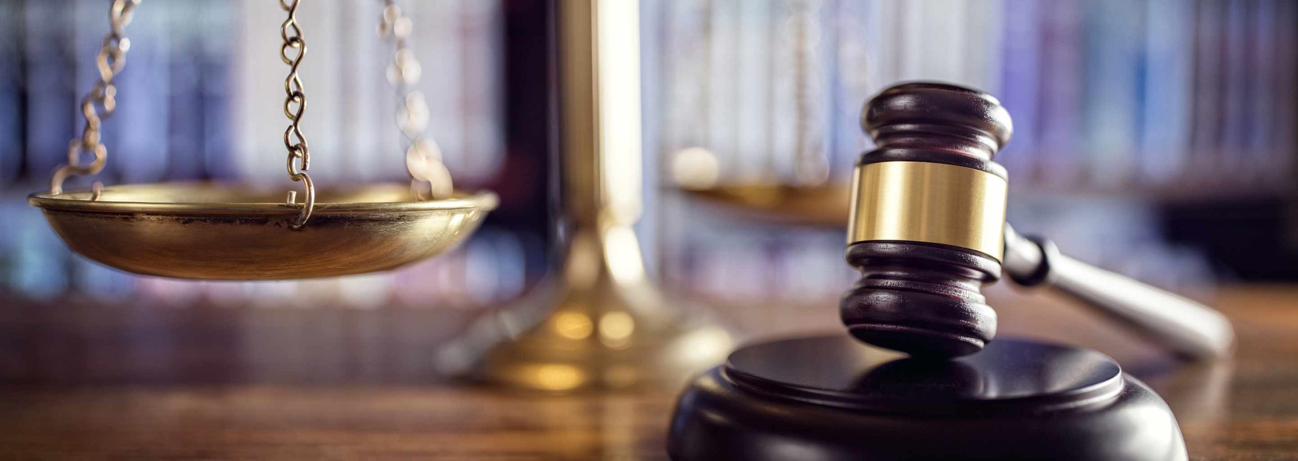 scales of justice & gavel