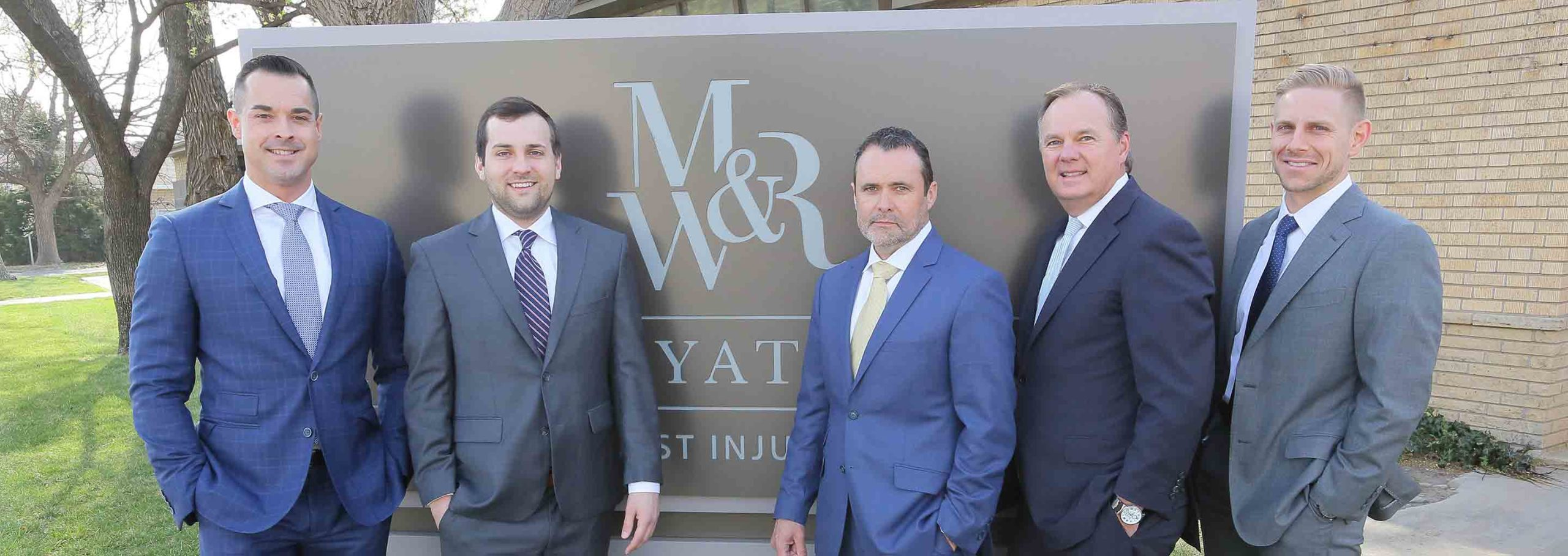 mann wyatt & rice team photo